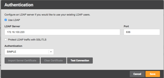 Configuring and using LDAP with the Delphix Engine